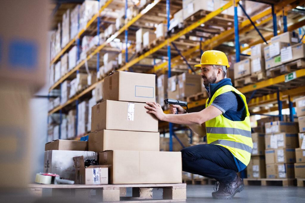 Warehouse barcode