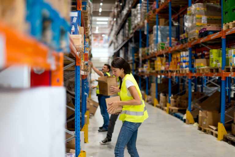wave picking in warehouse